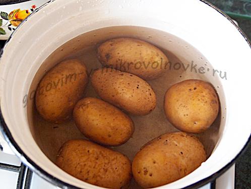 картофель сварить