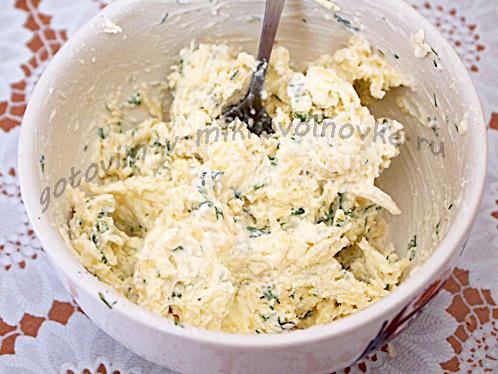 чесночное масло для картофеля в микроволновке