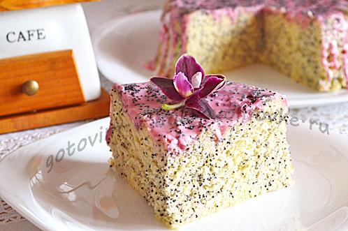 сделайте торт