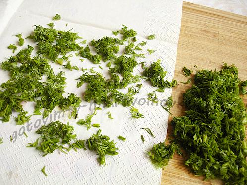 как сушить зелень в микроволновке
