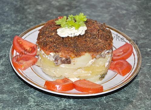 картошка по-болгарски в микроволновке: рецепт с фото