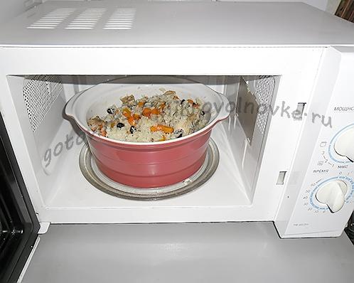 готовить в микроволновке
