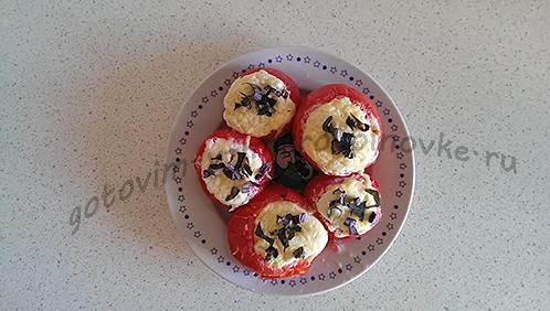 Яйцо в помидоре: быстро, ярко, вкусно!