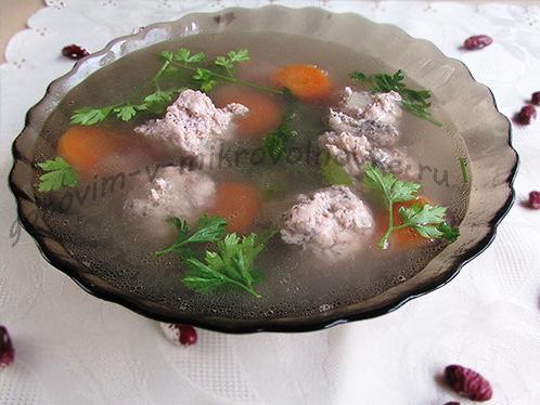 фото готового первого блюда из микроволновки