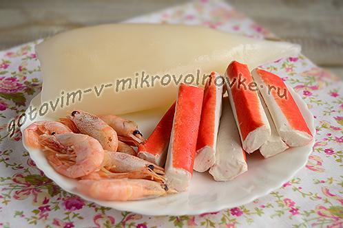 Киноа с морепродуктами, пошаговый рецепт с фото