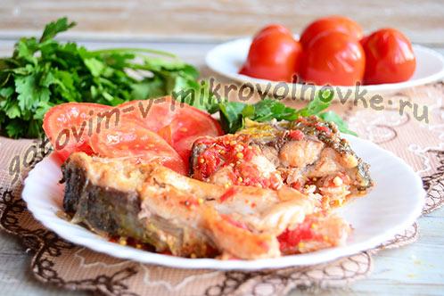 Карп в томатном соусе: рецепт быстрого приготовления