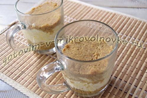 Чизкейк творожно-банановый – кулинарный рецепт