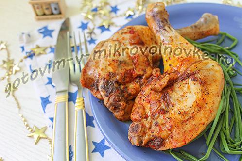 Как приготовить куриные окорочка в рукаве для запекания