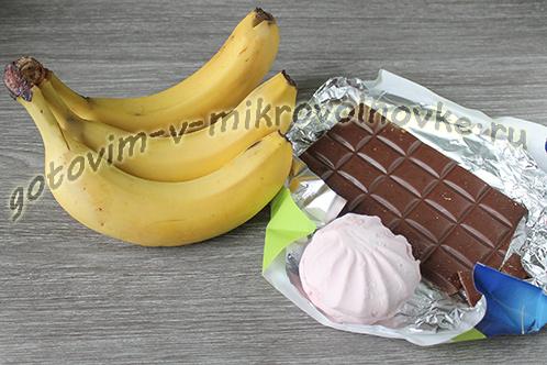 zapechennye-banany-s-shokoladom-v-mikrovolnovke-1
