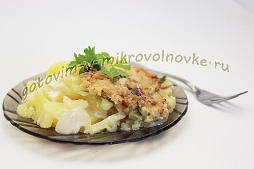 Привычная еда: картошка с майонезом