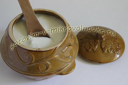 Рецепт йогурта
