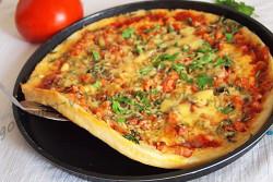 пицца в микроволновке готова