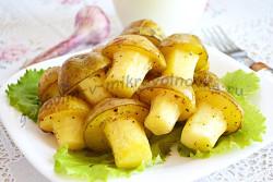 как приготовить картошку в микроволновке