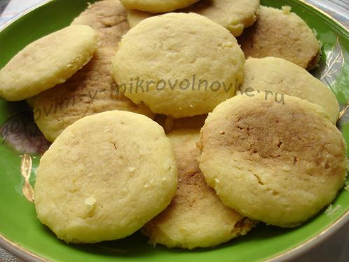 готовое печенье их микроволновки