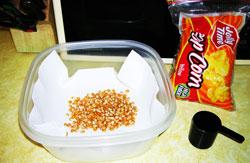 Как сделать попкорн не в микроволновки