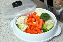 как варить овощи в микроволновке