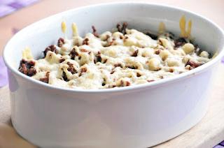 картошка в микроволновке с мясом