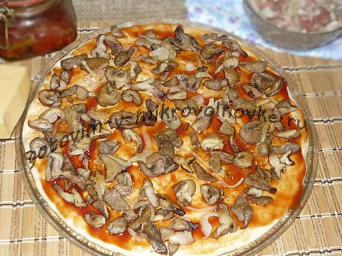 разложить грибы