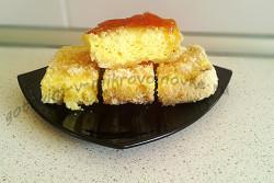 рецепт творожного пирога в микроволновке