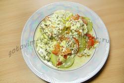 рецепт кабачки тушеные с помидорами