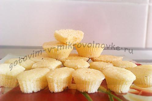 творожный кекс в микроволновке за 5 минут