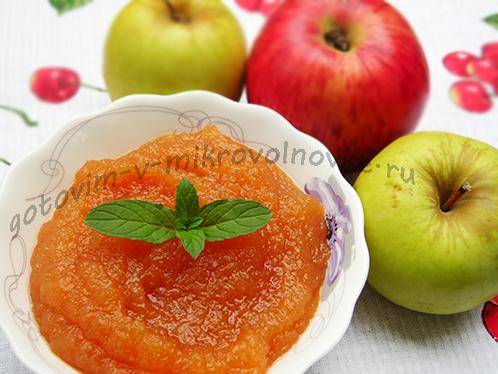 простой рецепт джема из яблок