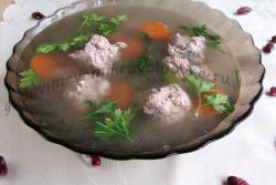 фото готового первого блюда