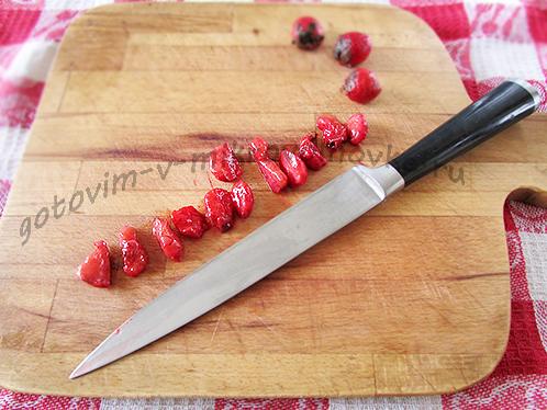 порезанные ягодки
