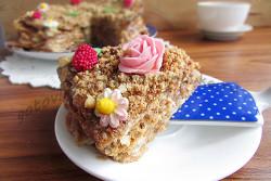 как приготовить торт наполеон в микроволновке