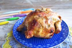 курица в пакете для запекания