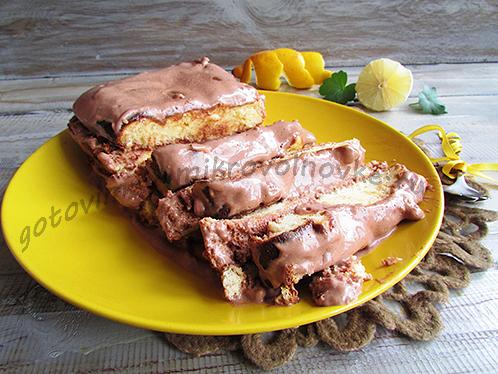 наивкуснейший лимонный пирог готов