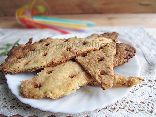 рецепт с фото сырных крекеров