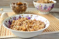 рецепт гречки по-монастырски с грибами шампиньонами