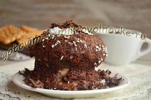 нежный шоколадный кекс на кефире