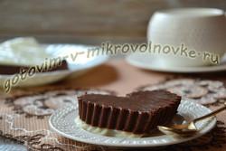 рецепт с фото шоколадный мусс
