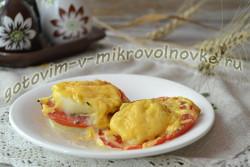 кабачки запеченные в микроволновке с сыром