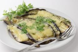 баклажаны с сыром рецепт